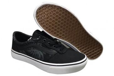 Vans Old Skool Noir Blanche Soldes | Chaussures Vans