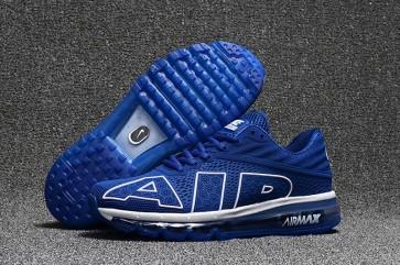 Nike Air Max Flair 2017 Bleu Blanche, Chaussures Homme Pas Cher