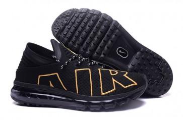 2017 Chaussures Nike Air Max Flair Noir Or Pas Cher, Homme