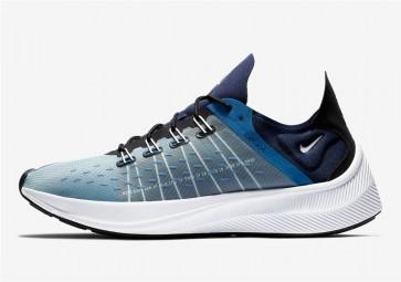 Homme Nike EXP-X14 Primarily Bleu Soldes