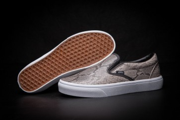 """Chaussures Vans Classic Slip on """"Leather Snakeskin"""" Print"""