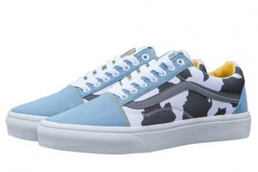 Chaussures Vans Toy Story Old Skool Woody Denim Pas Cher
