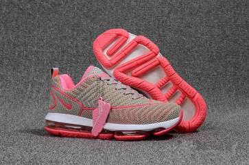 Nike Air Max DLX KPU TPU Femme Grise Rose Rabais