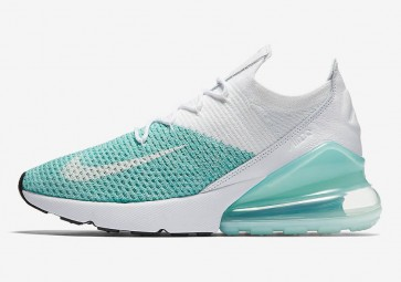"""Boutique Femme Nike Air Max 270 Flyknit """"Igloo"""" Igloo Blanche Noir"""