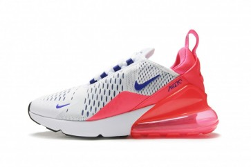 "Femme Nike Air Max 270 ""Ultramarine"" Blanche Rouge Soldes"
