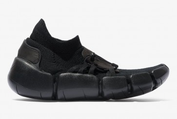 Nike Footscape Flyknit DM Triple Black En ligne