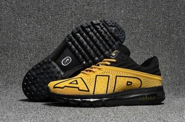 Chaussures Nike Air Max Flair 2017 Jaune Noir Homme Vente