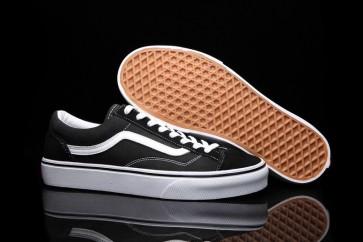 Boutique Chaussures Vans Old Skool OG 1977 Style 36 Noir Blanche