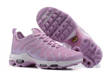 Chaussures Femme Nike Air Max Plus TN Ultra Rose Pourpre Pas Cher