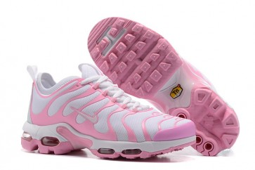 Nike Air Max Plus TN Ultra Pas Cher, Chaussures Femme, Blanche Rose