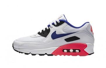 """Nike Air Max 90 Homme """"Ultramarine"""" Blanche Bleu Pas Cher"""
