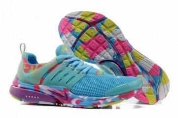 Chaussures Nike Air Presto Femme Pas Cher - Bleu Rose Camo