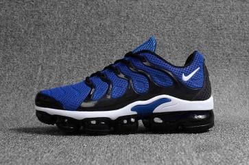 Nike Air VaporMax Plus KPU TPU Homme Bleu Blanche Pas Cher