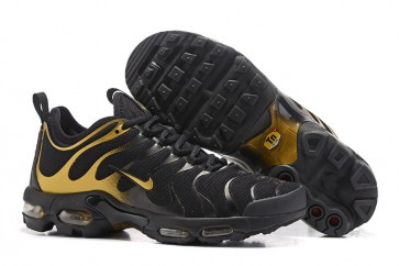 Chaussures Homme Nike Air Max Plus TN Ultra Noir Or