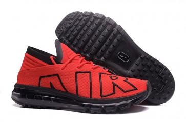 2017 Nike Air Max Flair Rouge Noir Pas Cher, Chaussures Homme