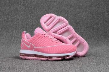 Boutique Nike Air Max DLX KPU TPU Femme Rose Blanche