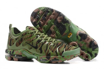 Nike Air Max Plus TN Ultra Chaussures Army Verte Camouflage Pas Cher