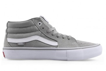 Chaussures Vans Sk8 Mid Pro Drizzle Pas Cher | Blanche