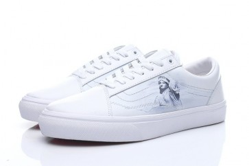 Chaussures Vans Old Skool Blanche Pas Cher
