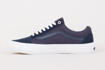 Chaussures Vans Old Skool Pro Soldes - Marine Bleu