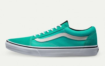 Chaussures Vans Old Skool Mint Blanche Pas Cher