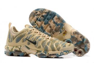 Chaussures Nike Air Max Plus TN Ultra Verte Rice Jaune Camouflage Pas Cher