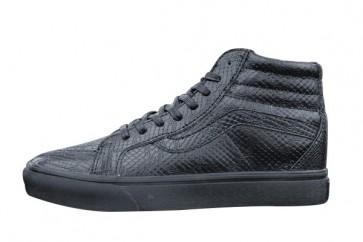 Chaussures Vans SK8 Hi Slim Zip Triple Black Pas Cher: Noir