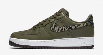 Acheter Nike Air Force 1 Low Premium Verte Camo Homme