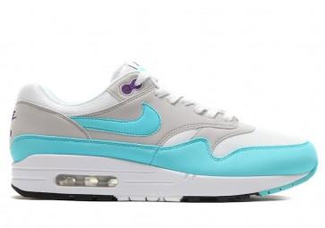 """Acheter Nike Air Max 1 Anniversary Femme """"Aqua"""" Blanche Grise"""