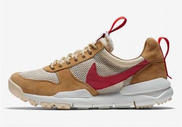 Boutique Homme Tom Sachs x Nike Mars Yard 2.0 Toddler Natural Maple-Sport Rouge