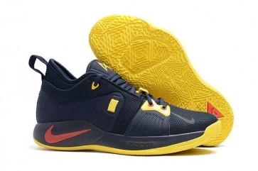 Homme Nike PG 2 Marine Bleu Soldes