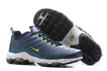 Chaussures Nike Air Max Plus TN Ultra Homme Bleu Verte Pas Cher
