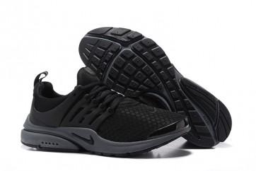 Homme Nike Air Presto Essential Chaussures Noir Grise Soldes