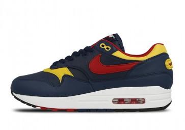 """Nike Air Max 1 Homme """"Snow Beach"""" Rouge Blanche Rabais"""