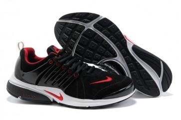 Chaussures Nike Air Presto Noir Rouge Pas Cher