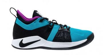 "Nike PG 2 Homme ""Bleu Lagoon"" Bleu Blanche Soldes"