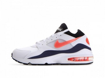 """Boutique Nike Air Max 93 OG Homme """"Flame Rouge"""" Blanche Rouge"""