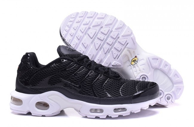 chaussure nike tn noir et blanc