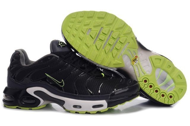 discount good selling save off Acheter Homme Nike Air Max TN Chaussures Noir Verte Pas Cher ...