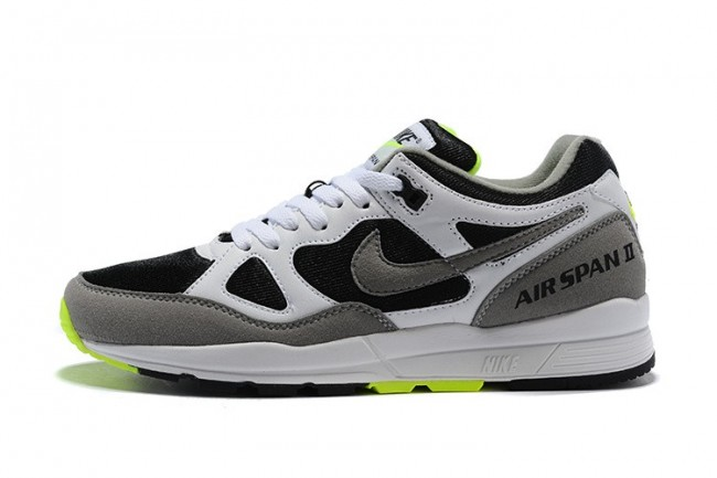 cheap prices newest collection amazing price Homme Nike Air Span II Blanche Noir Pas Cher