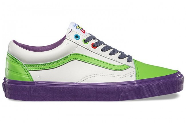 ee8f7c223c9620 Rabais Chaussures Homme/Femme Vans Toy Story Old Skool Buzz ...