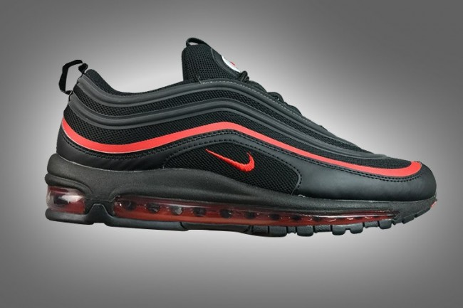 air max 97 noire nike rouge