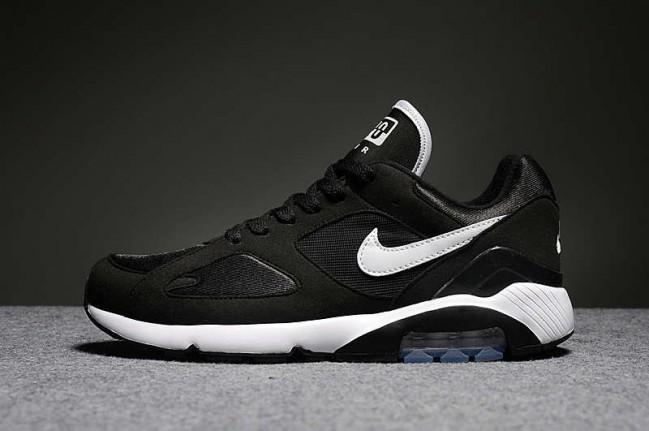 nouveau style 20d9c 1645d Nike Air Max 180 Noir Blanche En ligne Pas Cher