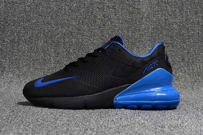 e222ac0497a Homme Nike Air Max 270 KPU TPU Noir Bleu Pas Cher