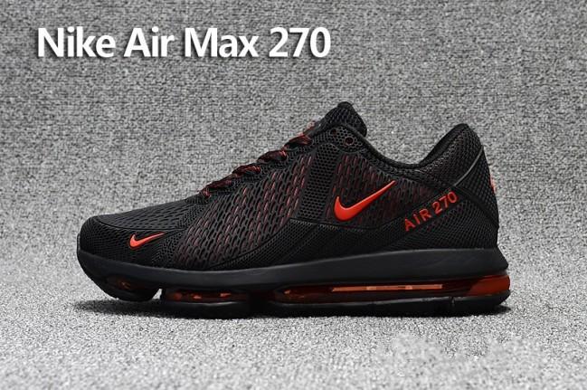 Homme Nike Air Max 270 Trainers KPU TPU Noir Rouge Meilleur Prix. Zoom. prev 5f337bd84a07