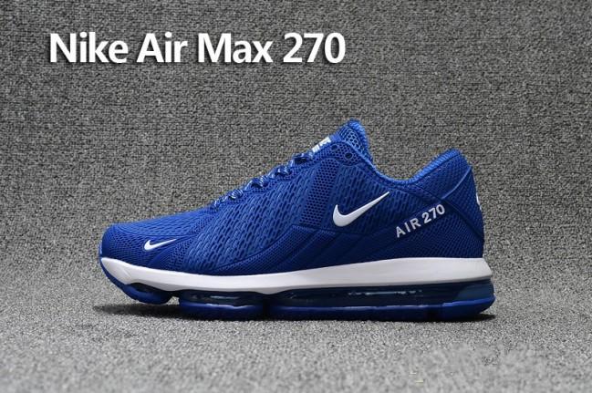 nike air max 270 bleu homme