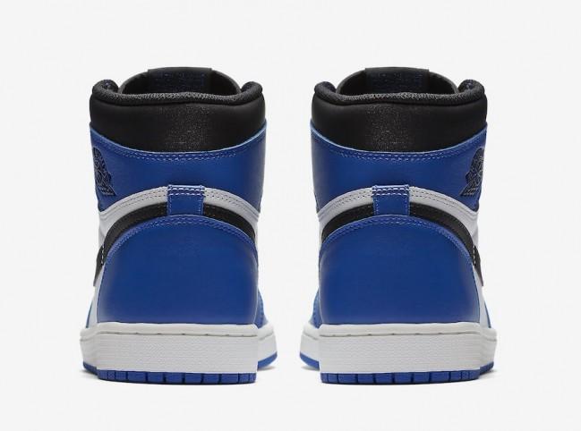 air jordan 1 retro high og noir/bleu roi