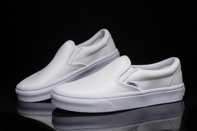 vans classic slip-on blanche