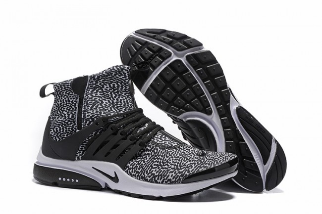 where to buy best online arriving Rabais Homme Nike Air Presto High Chaussures Noir Pas Cher ...