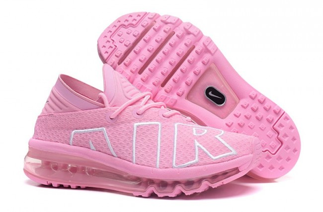 2c0f9909962a Boutique 2017 Femme Nike Air Max Flair Chaussures Rose Pas Cher Soldes